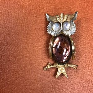 Accessories - Vintage Owl pin